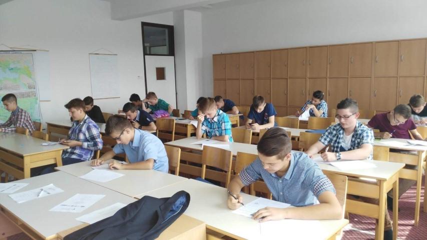Упуство за полагање пријемних испита за СМШ